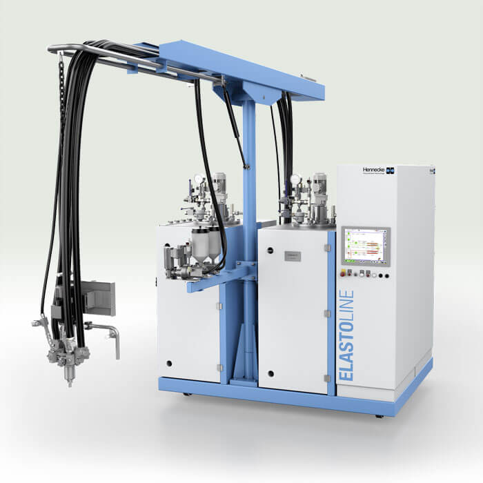 Hk R 5000 Low Pressure Metering Machine For High Output